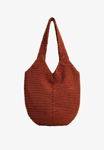 Handbag - naranja tostado
