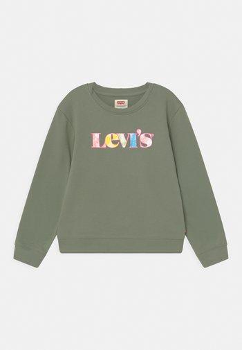 GRAPHIC CREW  - Sweatshirts - sea spray
