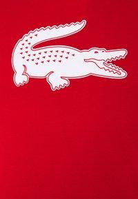 Lacoste - T-shirt imprimé - rouge/blanc - 2