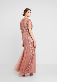 Lace & Beads - MEGHAN MAXI - Společenské šaty - dusty pink - 3
