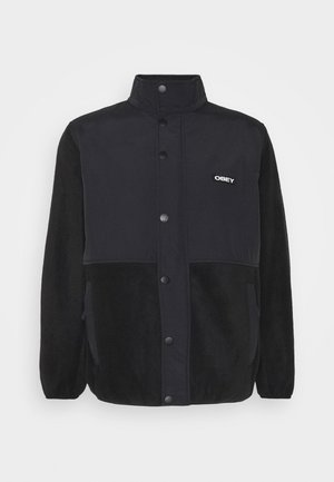 COMMANDO JACKET - Fleecejakker - black