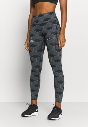 KENYA EPIC LUX - Leggings - iron grey/reflect white