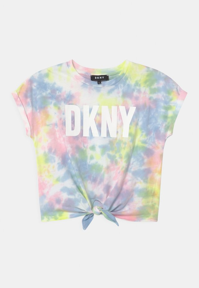 T-shirt print - multi-coloured