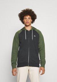 Quiksilver - EVERYDAY ZIP - Zip-up sweatshirt - tarmac - 0