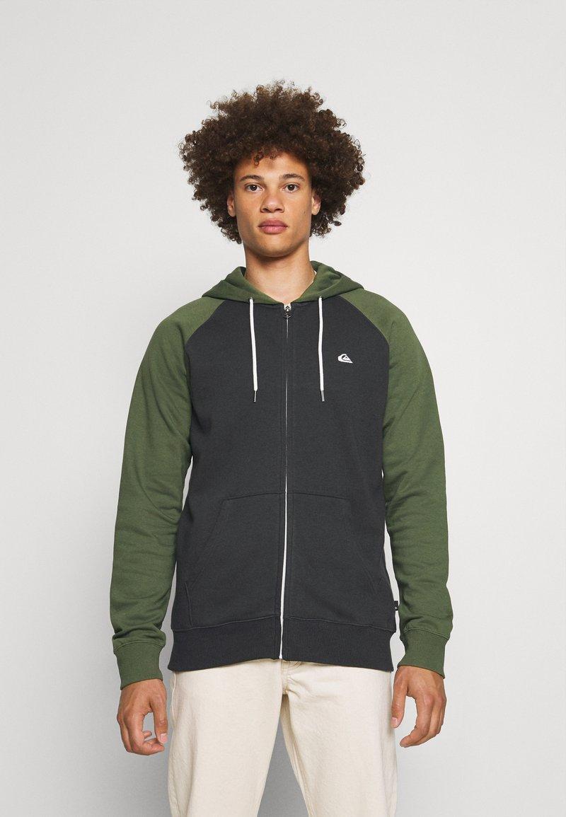 Quiksilver - EVERYDAY ZIP - Zip-up sweatshirt - tarmac