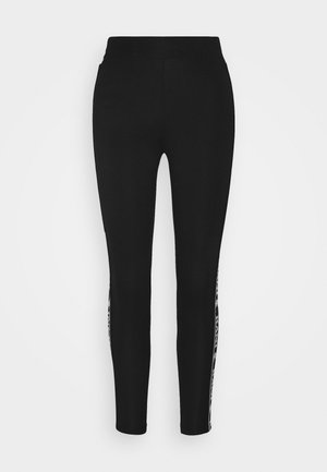 SIGNATURE TAPE - Leggings - Trousers - black