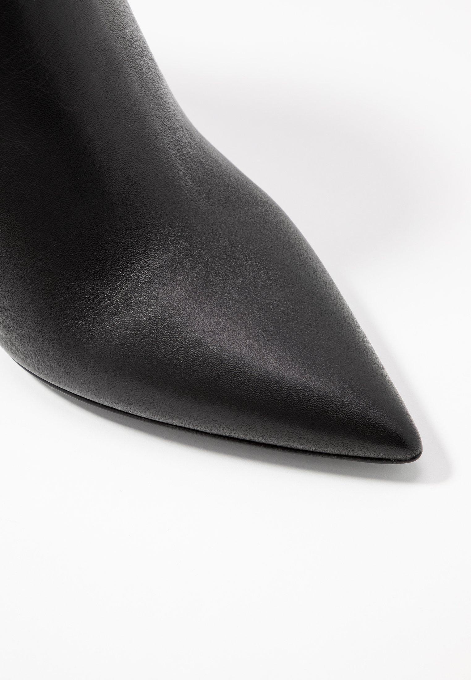 Bianca Di Ankelboots Med Høye Hæler - Nero/svart