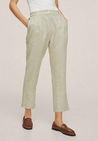 Mango - Trousers - vert pastel - 0