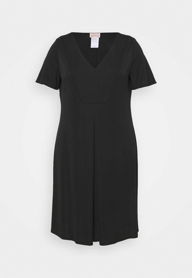 ORTENSIA - Robe en jersey - black