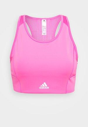 Light support sports bra - pink