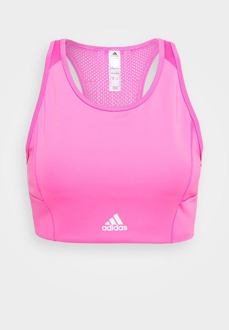 adidas Performance - Sujetadores deportivos con sujeción ligera - pink