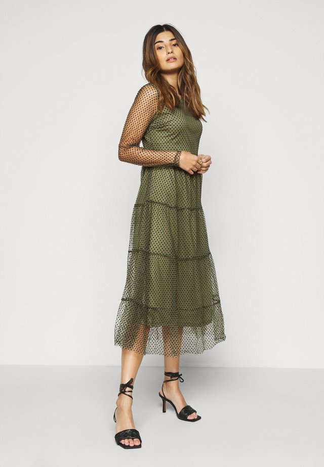 VMJUANA DRESS - Kjole - deep lichen green/black