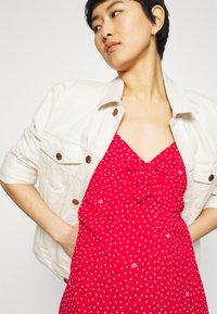 Liu Jo Jeans - ABITO - Day dress - red pois - 3