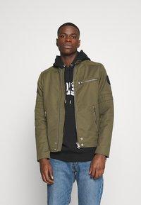 Diesel - J-GLORY JACKET - Summer jacket - olive - 0