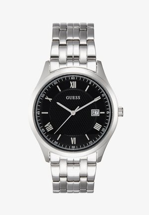 MENS DRESS - Watch - silver-coloured/black