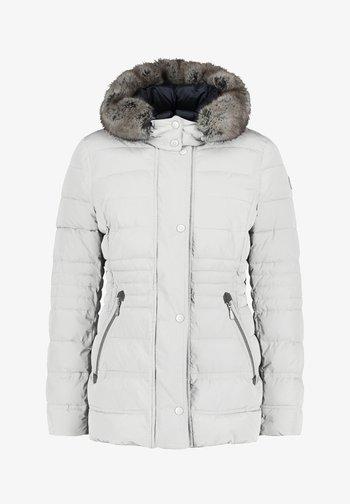 KUNSTDAUNE - Winter jacket - vanilla ice