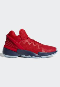 adidas Performance - D.O.N. ISSUE 2 - Basketball shoes - scarlet/team navy blue/gold metallic - 8