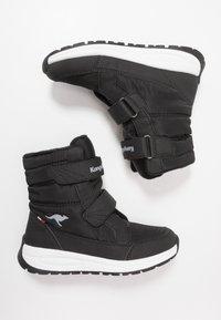 KangaROOS - K-FLOSSY RTX - Winter boots - jet black/steel grey - 0