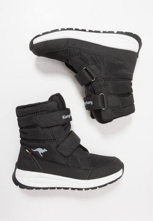 K-FLOSSY RTX - Winter boots - jet black/steel grey