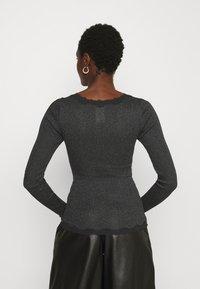 Rosemunde - CARDIGAN - Cardigan - black shine - 2