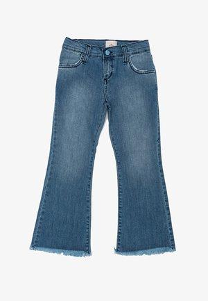 Flared Jeans - celeste
