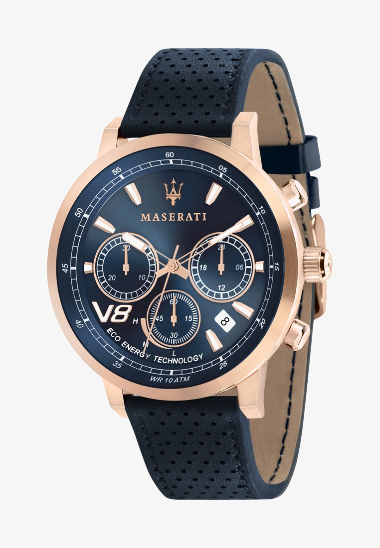 Maserati - Chronograph watch - rose gold-coloured