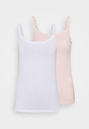 2 PACK - Camiseta interior - soft pink