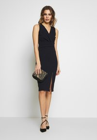 WAL G. - MIDI FITTED DRESS - Cocktailkjole - navy - 1