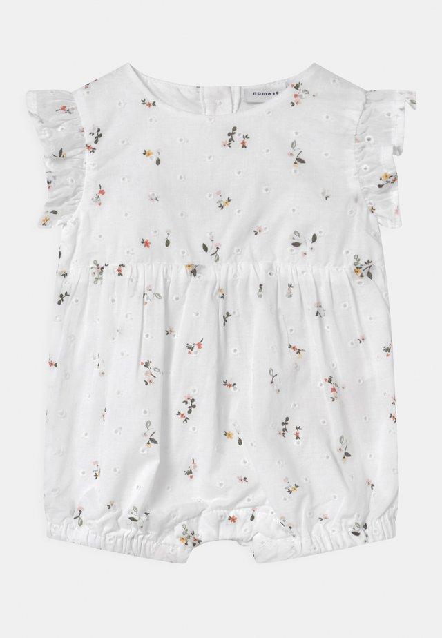 NBFFORA - Jumpsuit - bright white