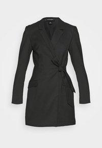 Monki - KAREN DRESS - Etuikjole - black - 4