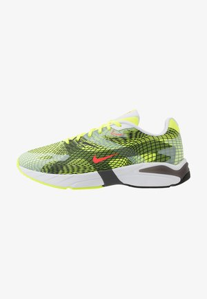 GHOSWIFT - Sneakersy niskie - volt/laser crimson/white/iron grey/black