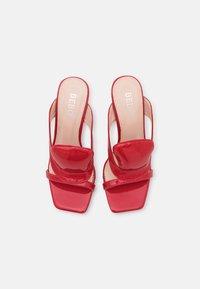 BEBO - FREDDIE - Heeled mules - red - 5