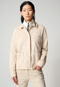 Napapijri - ALIE - Denim jacket - natural beige - 0