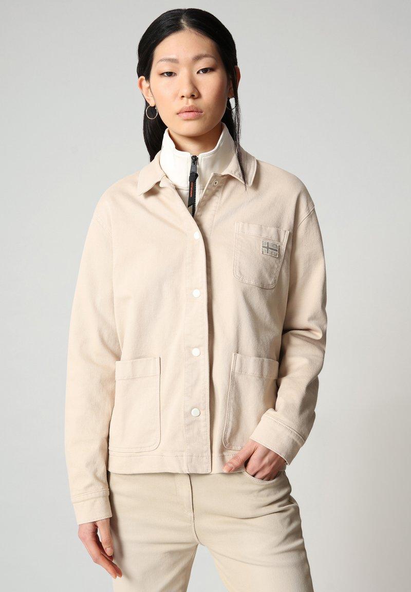 Napapijri - ALIE - Denim jacket - natural beige