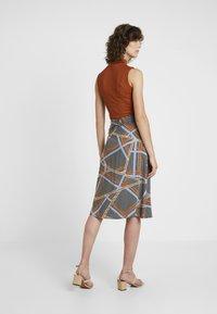 Soyaconcept - BIRNA - A-line skirt - faded blue combi - 2