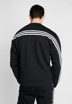 CREW - Collegepaita - black/white