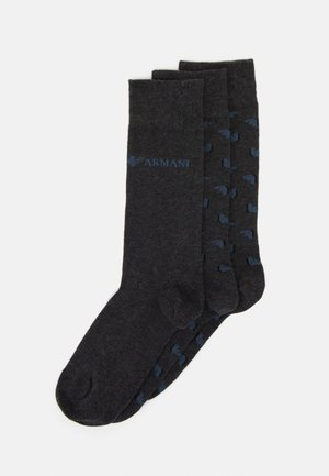 3 PACK - Socks - dark grey
