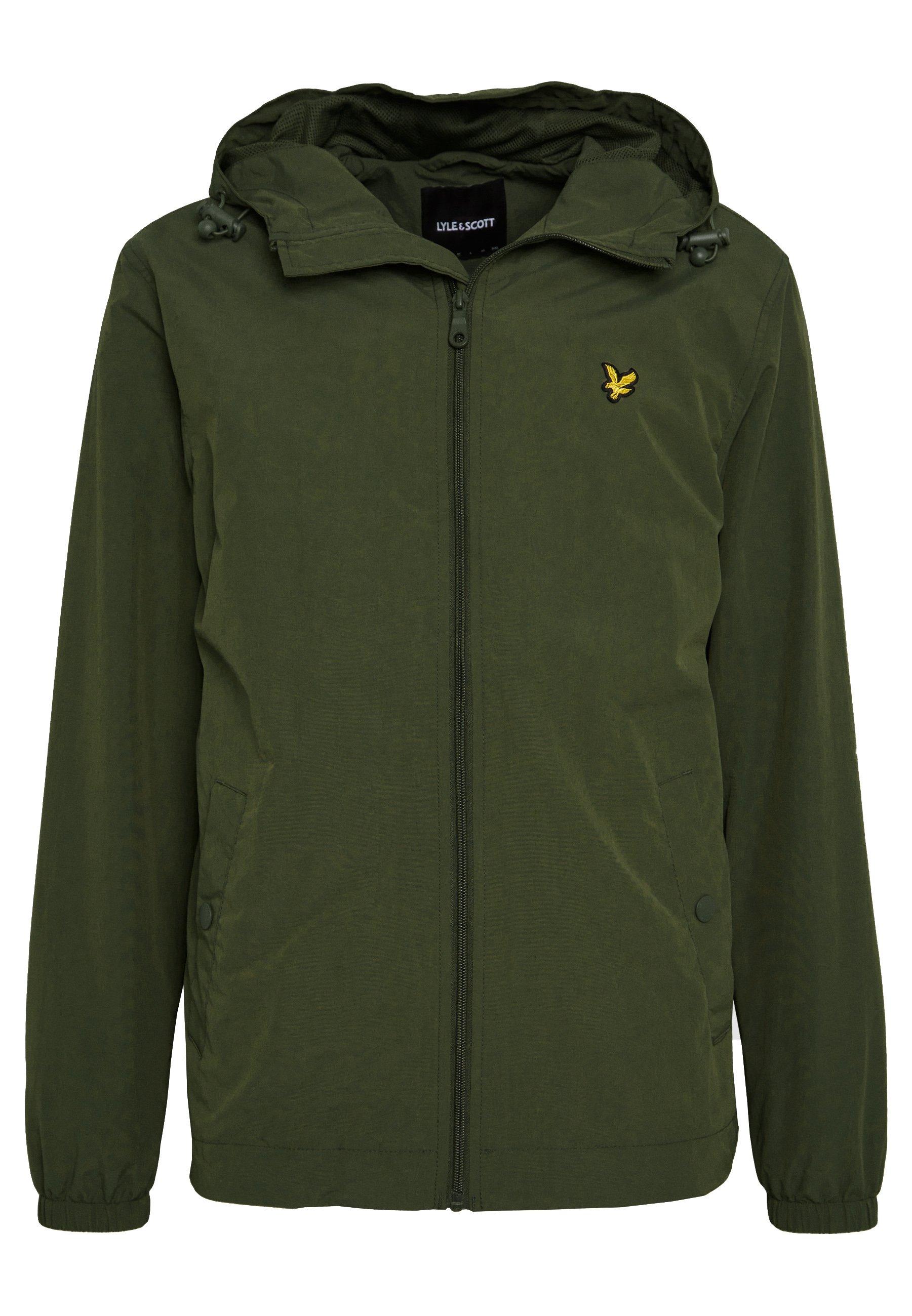 Lyle & Scott Zip Through Hooded Jacket - Leichte Jacke Dark Blue
