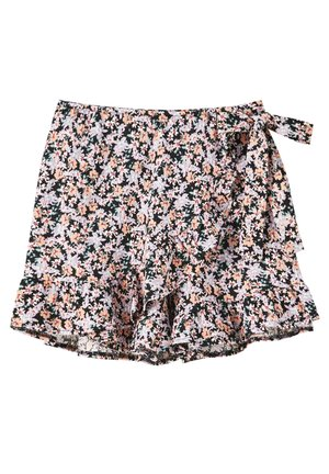 PRINT UND VOLANTS - Shorts - purple