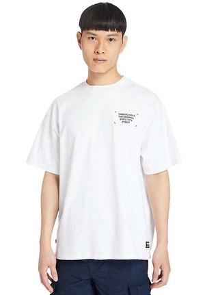 WORKWEAR - Print T-shirt - white