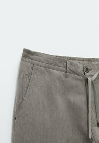 Massimo Dutti - IM VINTAGELOOK  - Trousers - grey - 5