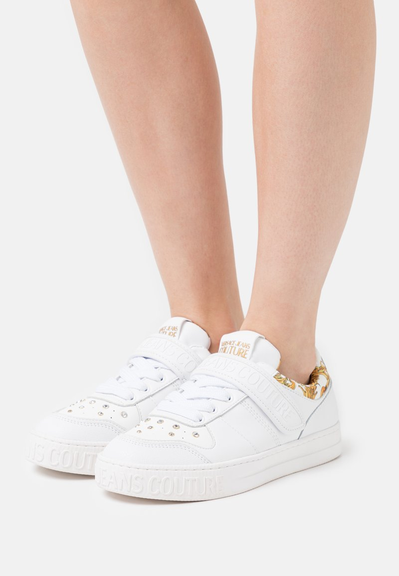 Versace Jeans Couture - Sneakers basse - white/gold