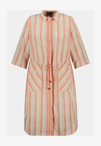 Ulla Popken - Shirt dress - mattes kupferorange - 1