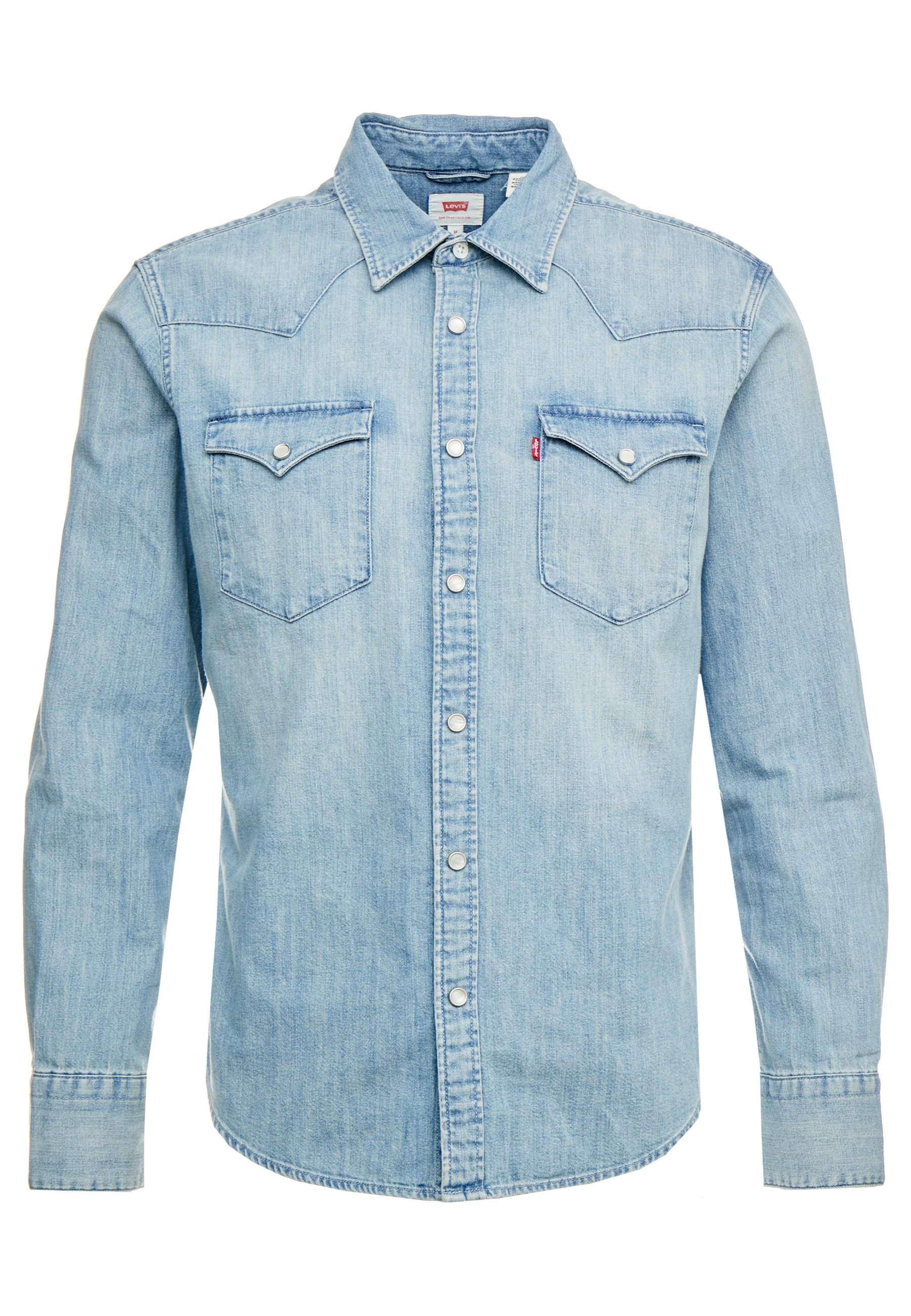 Levi's Skjorte Barstow Western Blå Langermede skjorter