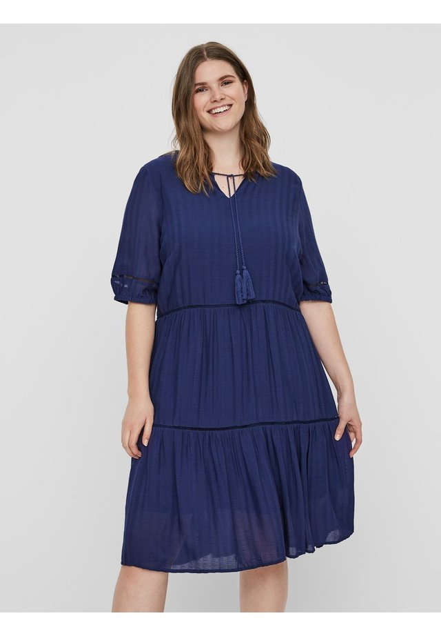 JRVALUNA - Korte jurk - blue
