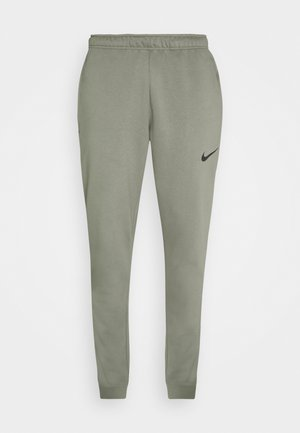 PANT TAPER - Trainingsbroek - light army/black