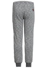 WE Fashion - JONGENS MET TAPEDETAIL - Tracksuit bottoms - blended light grey - 4