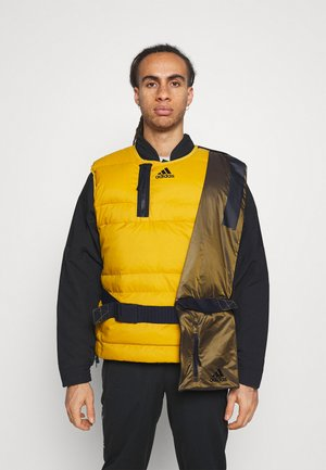 URBAN OUTDOOR VEST - Veste sans manches - gold