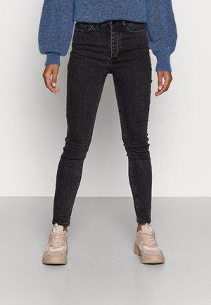 JULIE HIGH WAIST - Jeans Skinny Fit - skinny blackish