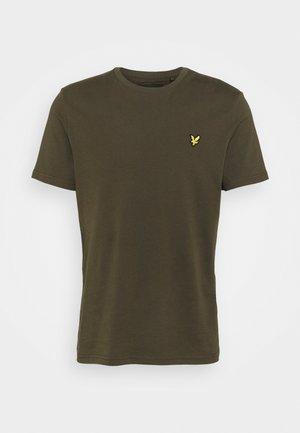 PLAIN - T-shirts - olive
